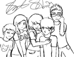 Day 13- Draw a group picture by SammieT83
