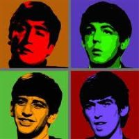 Colourful Beatles by Foxie11Heart