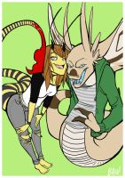 Fangs and Stingers by TenaciousBee