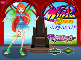 Winx Club Bloom - Dressup24h by willbeyou
