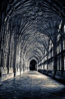 Gloucester cathederal stock by AngiWallace