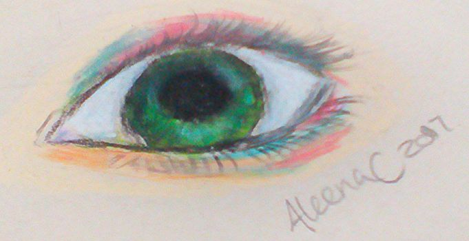 A eye of color by aleenaC