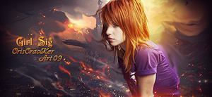 Girl signature: Paramore by criscracker