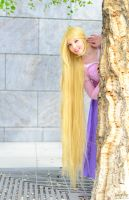 Rapunzel : Hey There! by princess-soffel