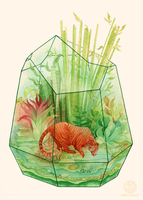 Tigerrarium by Calmality