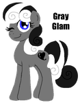 MLP:Gray Glam by kiananuva12