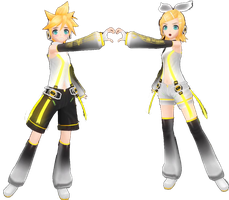 Project Diva F RIN LEN APPEND by Nekofred