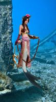 mermaid tf the new life of Diao-chan by tsilver