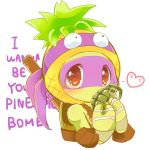 I wanna be your Pineapple Bomb by curamix666