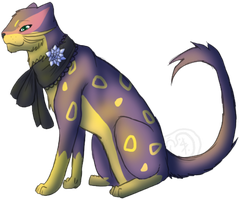 A Sneaky Liepard by Luteshi