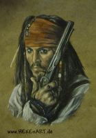 Jack Sparrow 2 by HEXEnART