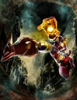 Iron Man comes... by TedKimArt