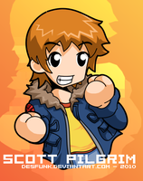 Scott Pilgrim - Scott by desfunk