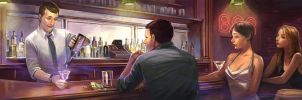 Welcome to Bar 321, have a drink! by FelipeCagno