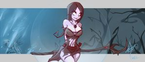 Witch, Whispering Ice [Path Of Exile] by ZackArgunov