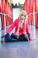 ToraDora- Taiga winter uniform - 07 by MissAnsa