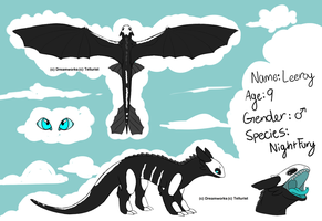 HTTYD Personal Night Fury by AlphaStars