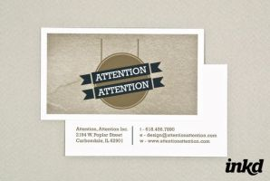 Sign Shop Business Card by inkddesign