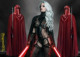 Lady Sith (starwars) done by killbiro