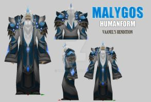 Malygos The Spellweaver humanoid By Vaanel by Vaanel