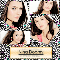 +Photopack: 580 - Nina Dobrev by NeverlandPhotopacks