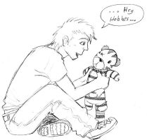 Calvin and Hobbes- grown up by Illuminatii