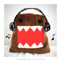 Domo Loves Music by kurosakii