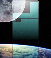 Youtube Space Background by DarreToBe