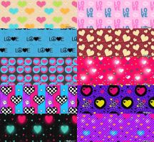 Love Pattern Set 3 by kvaughnp3