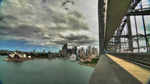 View from the bridge 2 by rhprints