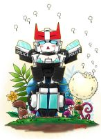 Prowl and mushroom by XXX023