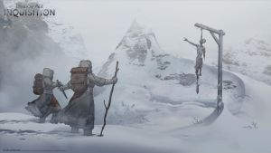 DA:I -  Frozen Wastes by MattRhodesArt