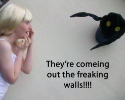 It's coming from the wall by Fiftyshadesofkay
