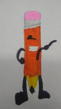 My Drawing of Penicl (BFDI) by MrJason200