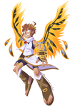 Kid Icarus by Rubilight