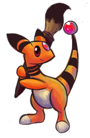Ampharos ID by AlphaRoo