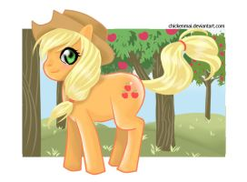 Applejack by chickenmai