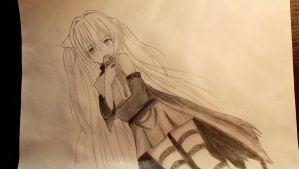 Yami (Golden Darkness) unfinished by Htomptid