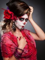 Sugar Skull Summer Fashion by Kalamakia