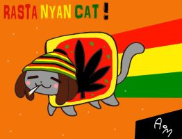 Rasta Nayn Cat by PumaHTF