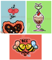 Valentine's Day Cards by divi