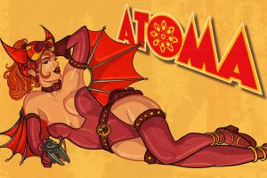 REMAKE: Atoma Wallpaper by PaulSizer