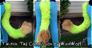 Twitch Tail Commission by WindWo1f