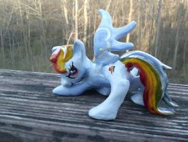 Rainbow Dash Figurine by GhostlyMuse