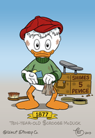 Ten-year-old Scrooge McDuck by TedJohansson