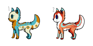 Wolf Adoptables .:Open:. by GeXeHeNNa