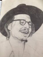 johnny depp portrait by Melflop