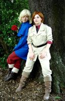 France and South Italy cosplay~ by CiPo-ChAn-NaNoDa