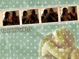 Kate and Sawyer by vincitrice