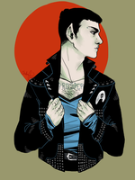 Punk Spock by teaofrage